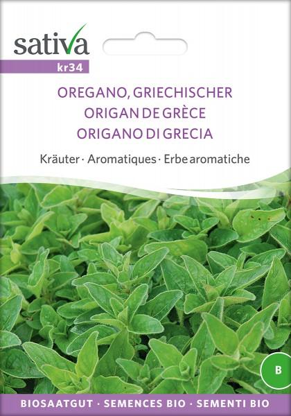 BIO Saatgut Oregano, griechischer