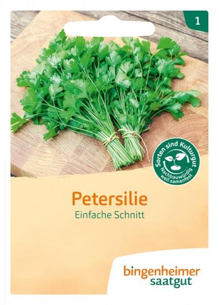 BIO Saatgut Petersilie Einfache Schnitt 3, glatt