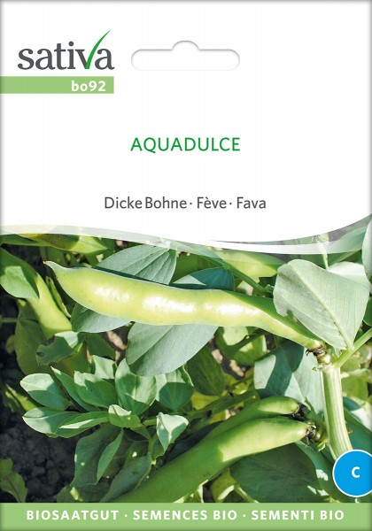 BIO Saatgut Dicke Bohne Aqua Dulce