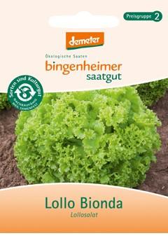 BIO Saatgut Pflücksalat Lollo Bionda