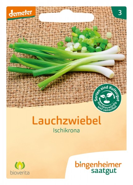 BIO Saatgut Lauchzwiebel Ischikrona