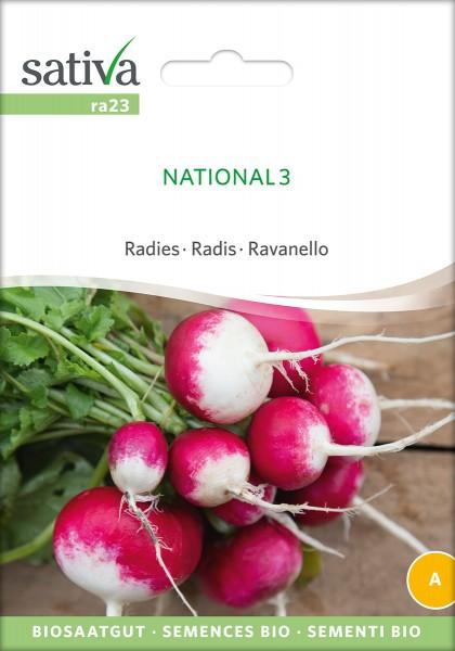 BIO Saatgut Radies National 3
