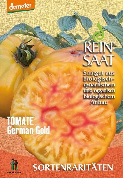 BIO Saatgut Tomate German Gold