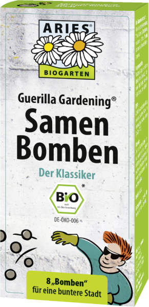 Guerilla Gardening Samenbomben KLASSIKER