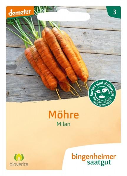 BIO Saatgut Möhren Milan, früh